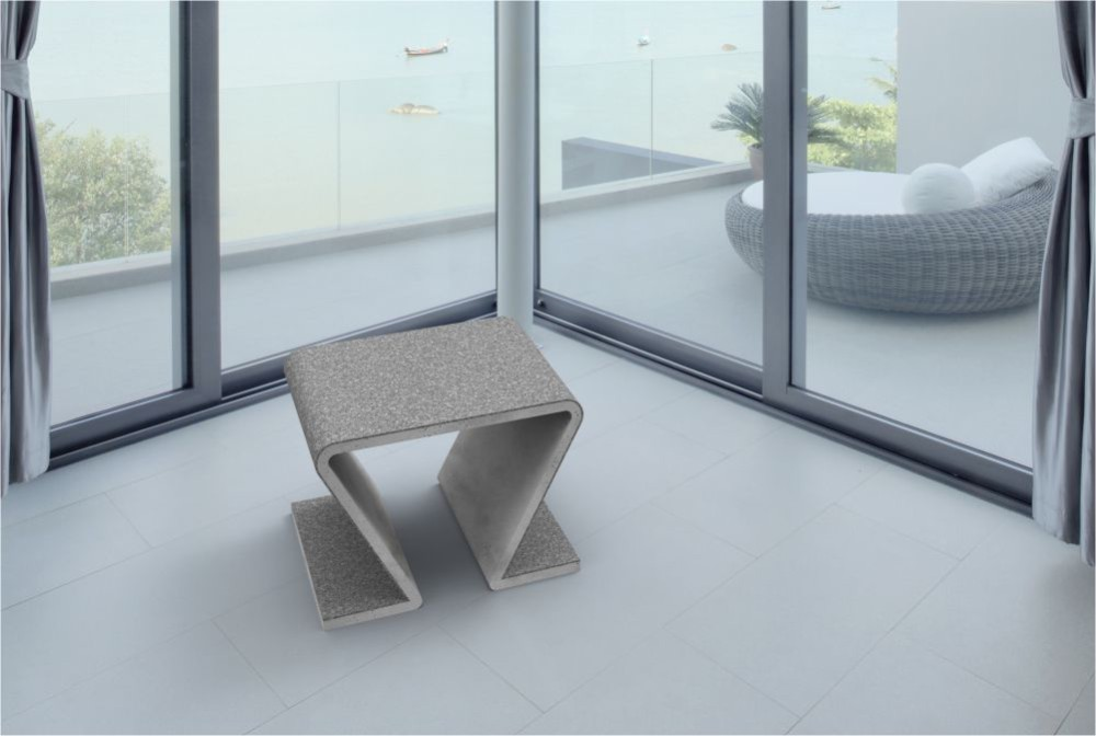 Concrete Furniture In Interiors Modern Line
