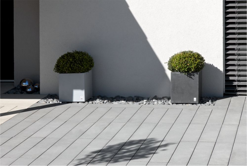Płyty Solid, donice Regular/ Solid slabs, Regular planter