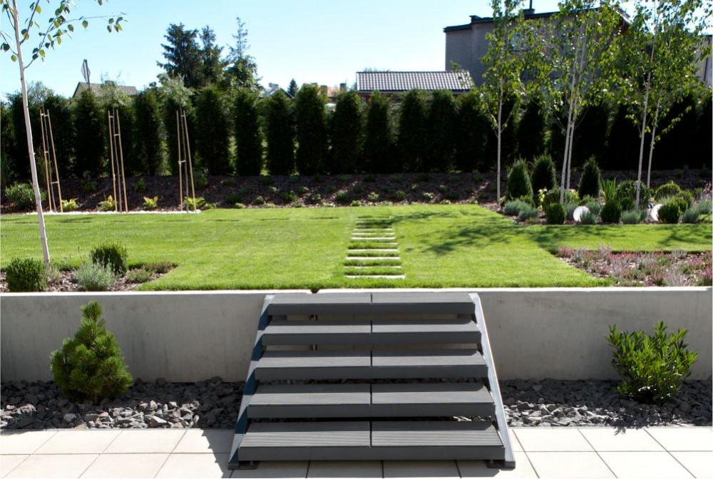 Modern garden architectural concrete Modern Line