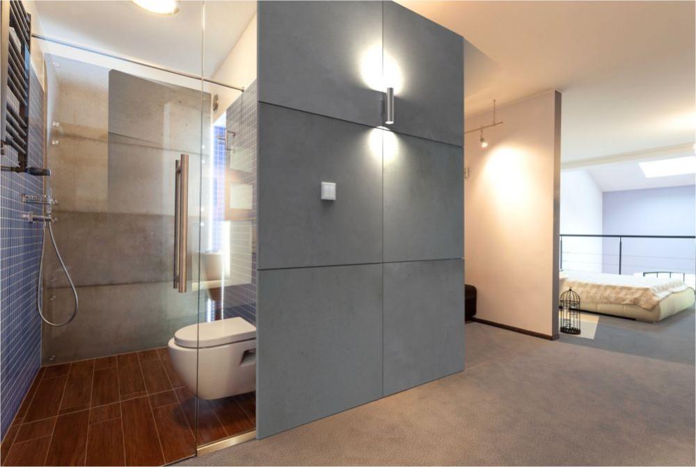 Beton Architektoniczny W łazience Modern Line