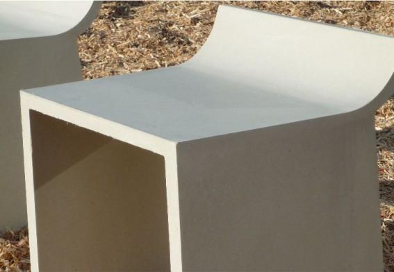 moderne hocker aus beton skate. Black Bedroom Furniture Sets. Home Design Ideas