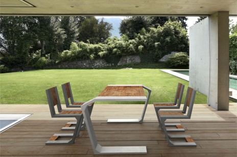 Modern style terrace