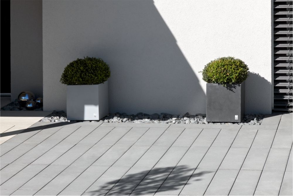 Donica Regular, płyta Solid/ Regular planter, Solid slabs