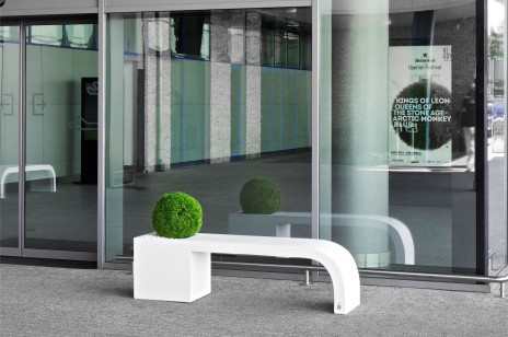HARMONY bench-planter