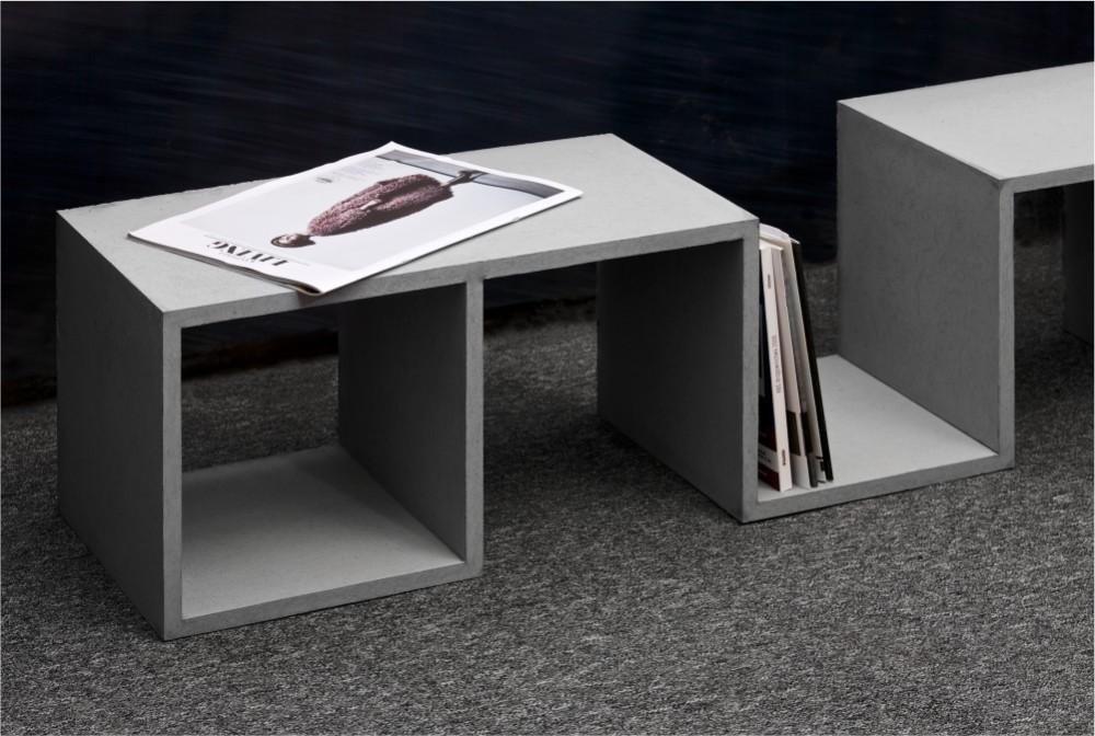 Projekt specjalny - betonowy regał/ Special project: concrete bookshelf