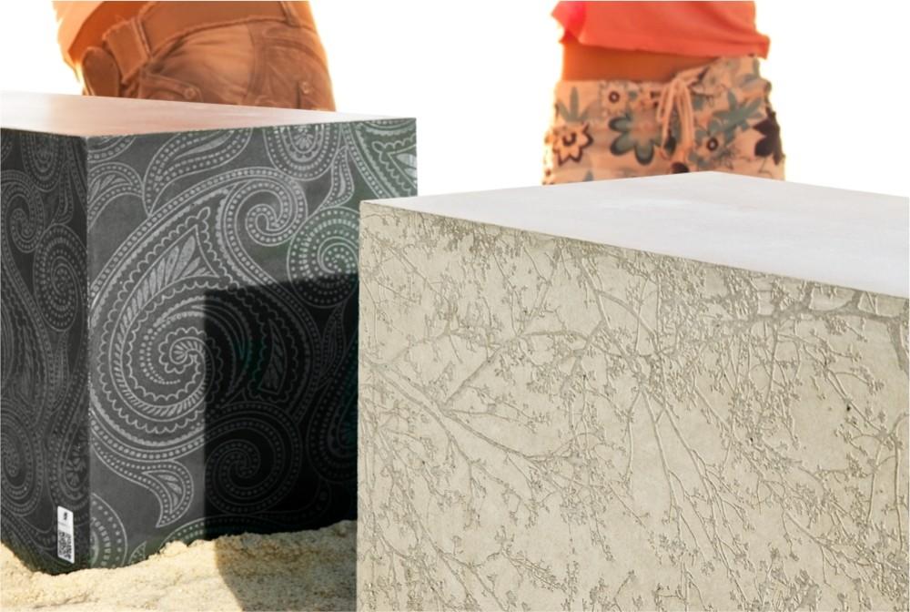 Box z powierzchnią strukturalną/ Regular Box with structural surface