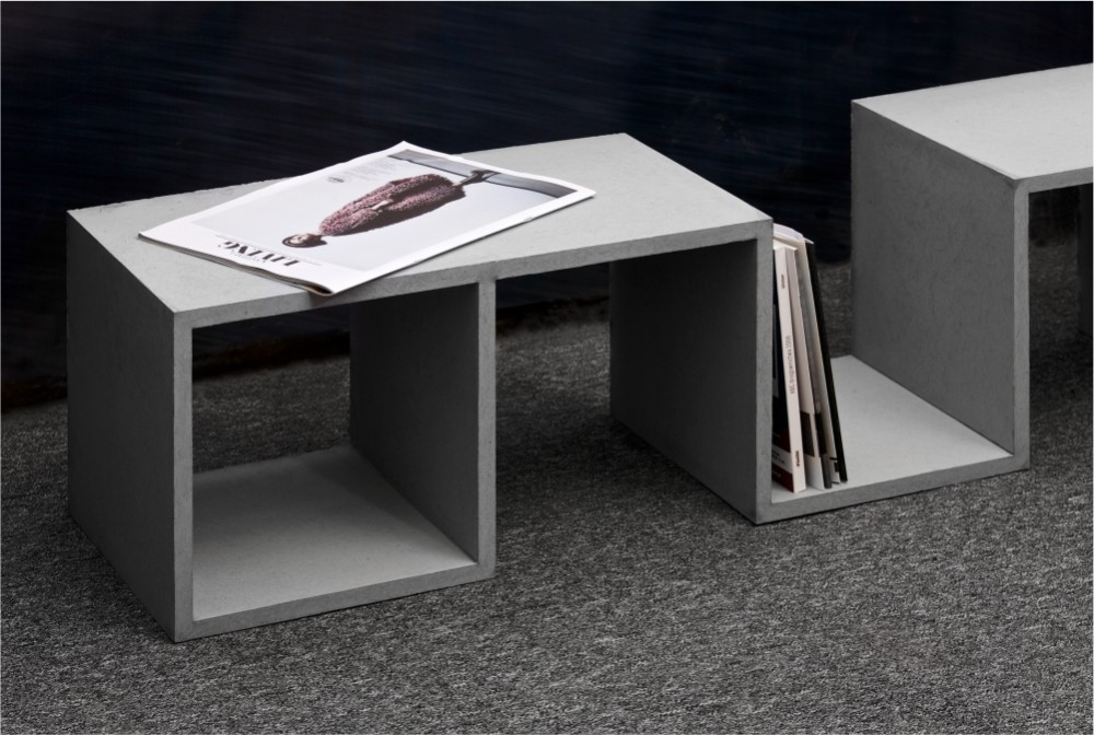 Betonowa półka/Concrete bookshelf