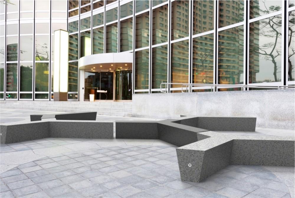 Ława Trio/Trio bench
