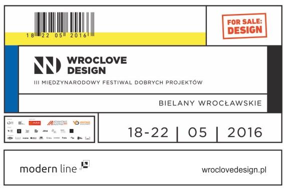 Modern Line wystawcą na Wroclove Design Festiwal