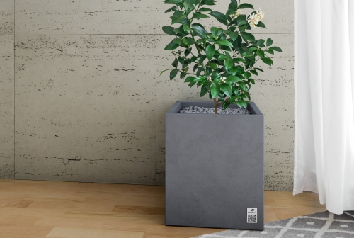 Płyta Slim trawertyn, Donica Regular/ Slim travertine panels, Regular planter