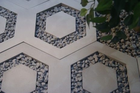 We introduce the newest product in our offer – hexagonal slab made out of architectural concrete!