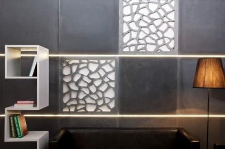 6 powodów dla których warto wykorzystać beton na ścianach i podłogach w salonie