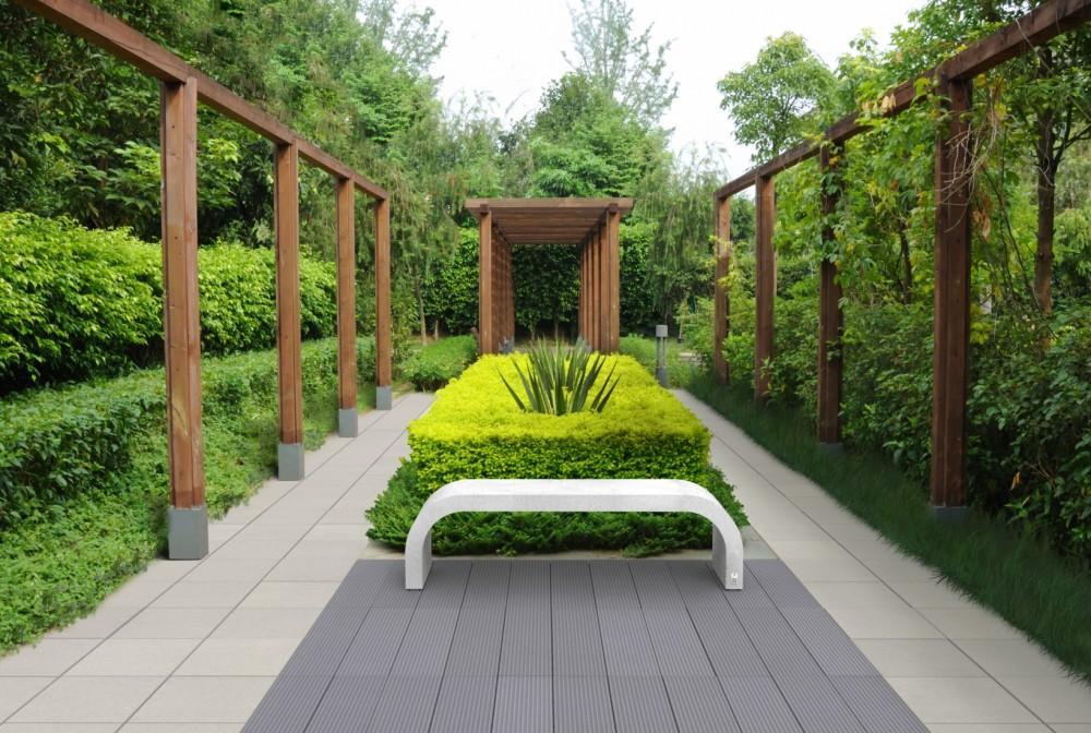 Style steel, Cube gray, Ława Harmony white natural/Style steel, Cube gray, Harmony bench white natural