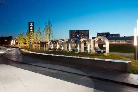 Rozwiązania z betonu architektonicznego w przestrzeni publicznej – CH Posnania
