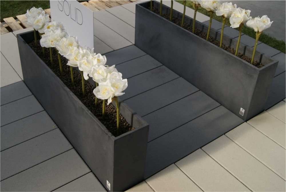 Płyta Solid, Donica Regular/Solid slabs, Regular planter