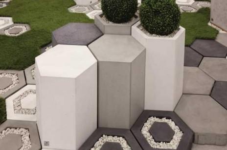 Poza schematem: nieszablonowe donice z betonu